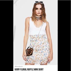 Momokrom floral skirt